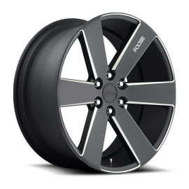 JANTE FOOSE SWITCH - F158 Black & Milled 20x9.5, 22x9.5