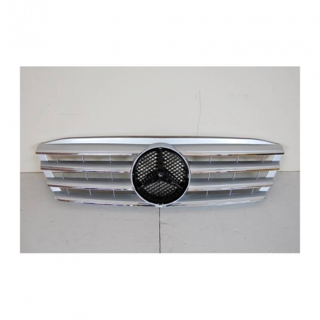 GRILLE MERCEDES W203 4 PORTES ABS CHROME