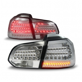 FEUX AR VW GOLF VI CHROME LED 08/12