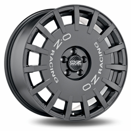 JANTE OZ RALLY RACING GRAPHITE FONCE LETTRE ARGENT 7,5X18 5X160 ET 48 FORD TRANSIT CUSTOM