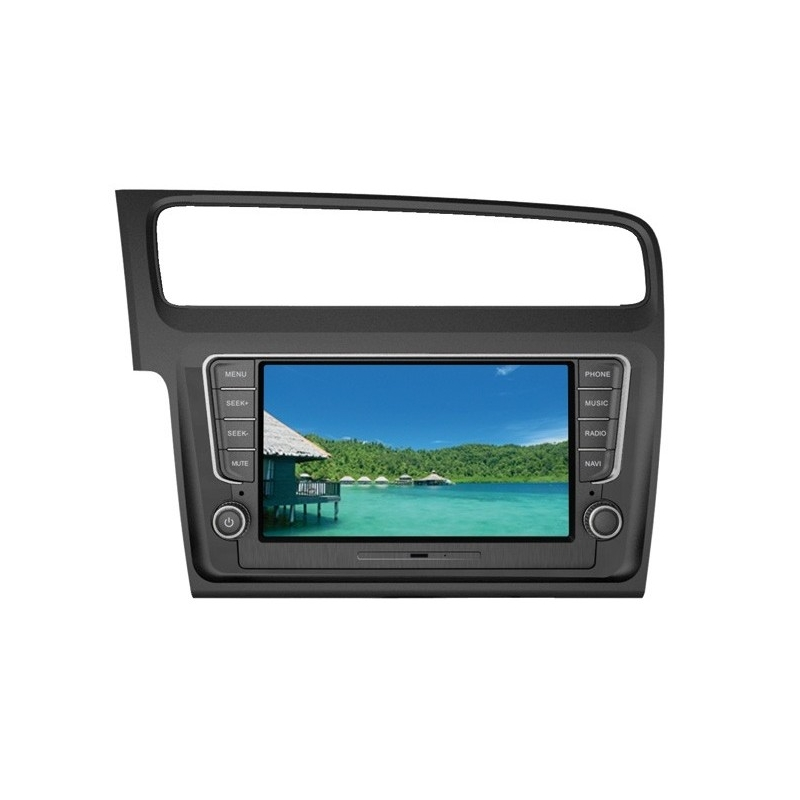 autoradio golf vii media station gris deckless tft lcd speed wheel. Black Bedroom Furniture Sets. Home Design Ideas