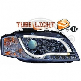 OPTIQUES AVANT TUBE LIGHT CHROME AUDI A3