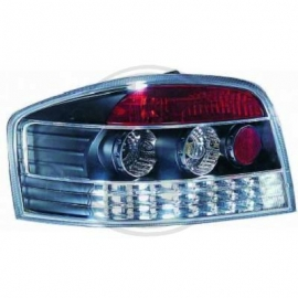 FEUX AR CHROME NOIR LED AUDI A3