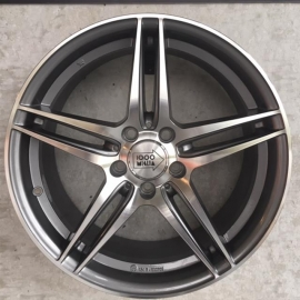 JANTE MILLE MIGLIA MM037 8 X18 5 X 112 ET 45 66.60 ANTHRACITE POLISHED