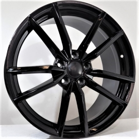 JANTE HOGAN TYPE VW GOLF R GLOSS BLACK 7,5X17 5X112 ET 45 57,1