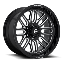 JANTE FUEL 4X4 IGNITE - D662 Gloss Black & Milled 10X20