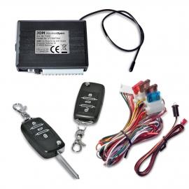 Télécommande pour centralisation de verrouillage 2x Radio-télécommande pour une empreinte de clé dépliantes