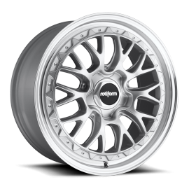 JANTE ROTIFORM LSR SILVER MACHINE 18/19""