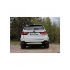 Silencieux arrière duplex D/G FOX inox pour BMW X5 type F15