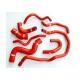 Kit durites silicone refroidissement 2.0L TFSI (8 durites)