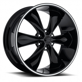JANTE FOOSE LEGEND 6 - F137 GLOSS BLACK LIP 20x9, 22x9.5