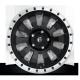"JANTE FUEL 4X4 US TACTIC - D629 Black w/ Machined Lip 17/18/20"""