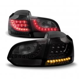 FEUX AR VW GOLF VI BLACK LED 08/12