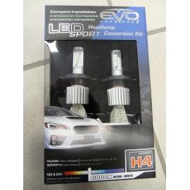 AMPOULES LEDS SPORT EVO FORMANCE H4 ULTRA WHITE 6000K 12V / 24V