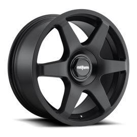 JANTE ROTIFORM SIX MONOBLOC MATT BLACK 18x8.5, 19x8.5