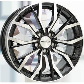 JANTE MONACO GP5 Black / Polished 8X18 5/120 ET30 72,6 BMW