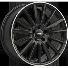 JANTE CMS C23 Black / Polished 8X18 5/112 ET46 CH66,6