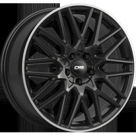JANTE CMS C25 Black / Polished 7,5X18 5/112 ET47 CH66,5