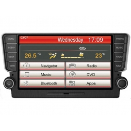 "AUTORADIO Golf VII Media station 8"""