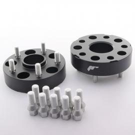 Adaptateurs 35mm 5x112 66,6 66,6 Noir