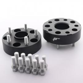 Adaptateurs 40mm 5x112 66,6 66,6 Noir