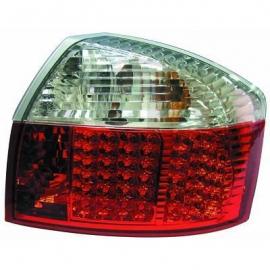 FEUX AR BLANC/ROUGE LED AUDI A4 BERLINE 00/04