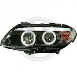 OPTIQUES AVANT FOND NOIR BMW X5 E53  03/07