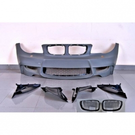 Pare-Choc Avant BMW E82/E88/E87/E81 Look M1 Grilles