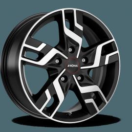 JANTE RONAL R64 BLACK FACE POLI 7X17 5x120 ET 55 VW TRANSPORTER T5 / T6