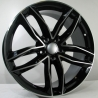 JANTE CAR1 TYPE AUDI BLACK FACE POLIE 9,5X22 5X112 ET 25 66,6