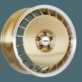 JANTE RONAL AERO R50 RACING GOLD 7,5X16 4X100 ET 38 68