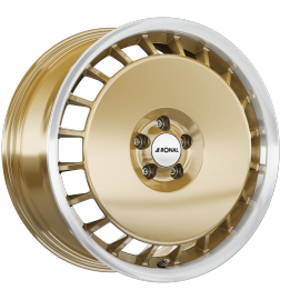 JANTE RONAL AERO R50 RACING GOLD 7,5X16 5X100 ET 38 68