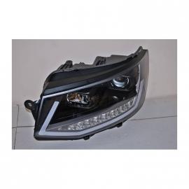 Phare Avant Lumière De Jour Real Volkswagen T6 Noir DRL