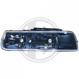 Kit de projecteurs principaux 99-02 SILVERADO DAEWOO Couleur noir