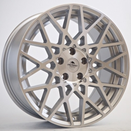 JANTE FORZZA TYPE ROTIFORM SPIDER 2 SILVER FACE POLI 8,5X18 5X112 ET 35 66,6
