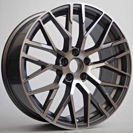 Jante Totino Type Audi R8 Gun Face Metal 8 5x19 5x112 Et 35 66 6 Speed Wheel