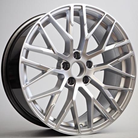 Jante Totino Type Audi R8 Hyper Silver 8 5x19 5x112 Et 35 66 6 Speed Wheel