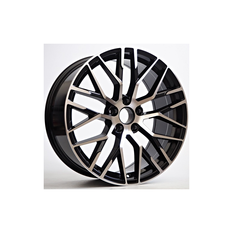 Jante Totino Type Audi R8 Black Face Polie 8 5x19 5x112 Et 35 66 6 Speed Wheel