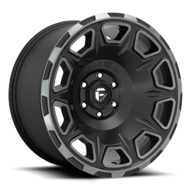JANTE FUEL US 4X4 VENGEANCE D686 Matte Black/Machined/DDT 17/20""