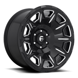 JANTE FUEL US 4X4 VENGEANCE D688 Gloss Black & Milled 17/20""