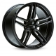 JANTE VOSSEN HF1 HYBRID FORGED TINTED GLOSS BLACK 19/20/21/22""