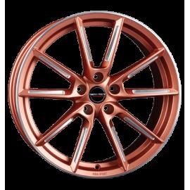 JANTE BORBET LX copper matt spoke rim polished 8X19 5X114,3 ET 50