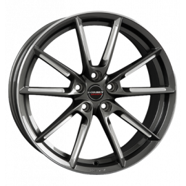 JANTE BORBET LX graphite spoke rim polished 8X19 5X114,3 ET 50