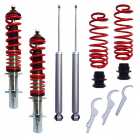 Kit suspension combiné fileté RedLine Audi A3 (8L), Amortisseurs filetés / ressort
