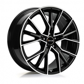 JANTE AVUS AF18 8,5X 19 5X 112 ET30 66,6 BLACK POLISHED