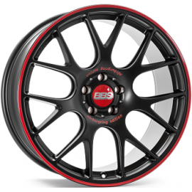 JANTE BBS CI-R DULL BLACK / RED 8,5X20 5/112 ET42 82,0