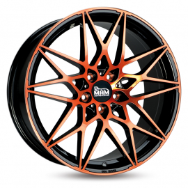 JANTE MAM B2 BLACK FROM ORANGE 8,5X20 5X112 ET 30 72,6