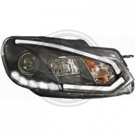 OPTIQUES AV Golf VI Limousine 08-12 LIGHT BAR BLACK