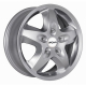 JANTE RONAL R44 ARGENT METAL  6,5x16 5x118  RENAULT TRAFIC