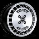 JANTE RONAL R10 TURBO Gloss Black / Polished  7X15  4x100 ET 37